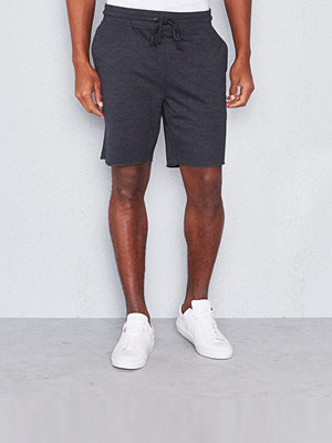 Shorts & kortbyxor - Bread & Boxers Lounge Short Dark Grey Melange