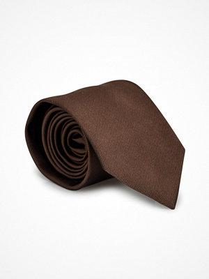 Slipsar - Amanda Christensen Classic Tie 8 cm Brown