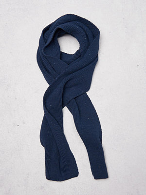 Halsdukar & scarves - Sätila Recycle Scarf 486 Dark Denim
