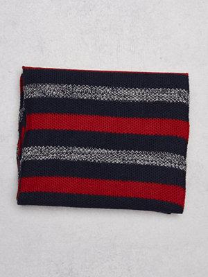 Halsdukar & scarves - Tommy Hilfiger Darrel Scarf 416 Striped
