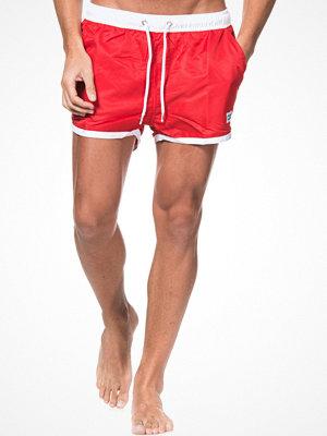 Frank Dandy Saint Paul Swim Shorts Red/White Red