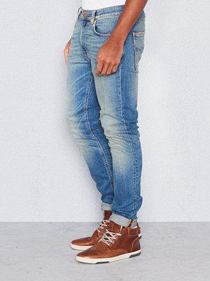 Jeans - Nudie Jeans Lean Dean Silver Lake