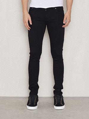 Nudie Jeans Skinny Lin Black Black