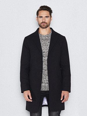 Rockar - Blench Marble Coat Black