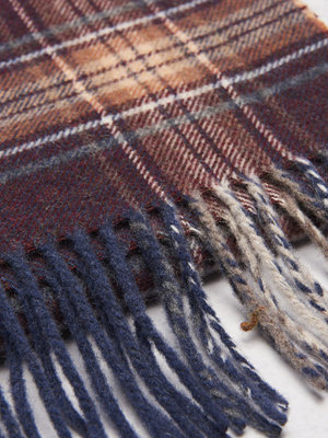 Halsdukar & scarves - Castor by Castor Pollux Plaidus Scarf Red Check