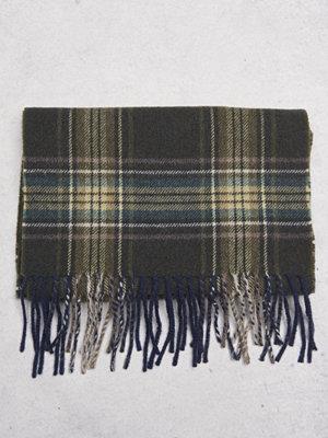 Halsdukar & scarves - Castor by Castor Pollux Plaidus Scarf Green Check