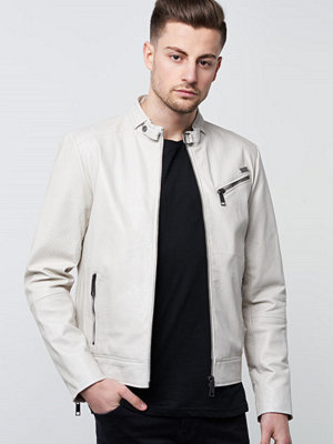 Skinnjackor - ROCKANDBLUE Tribeca Jacket White