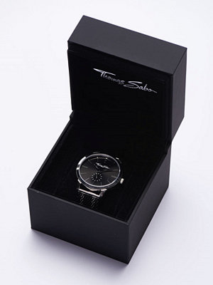 Klockor - Thomas Sabo Rebel Spirit Mesh Bico Black
