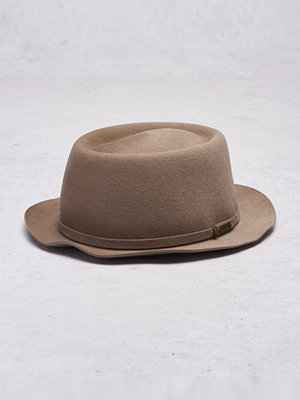 Hattar - Kangol Staple Pork Pie Morel