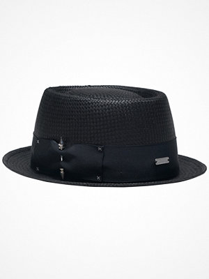 Hattar - Kangol Bar Porkpie Black