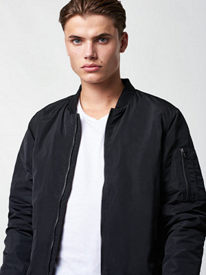 William Baxter Balthazar Bomber Black Jacket