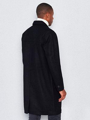Rockar - Dr. Denim Ingo Coat Black