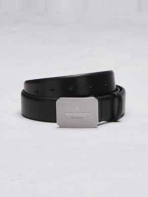 Bälten & skärp - Morris 47030 Belt 0001 Black