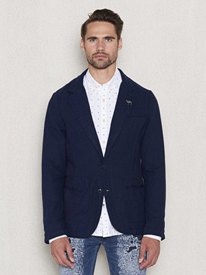 Scotch & Soda Slimfit Blazer Indigo Canvas 48 Denim Blue