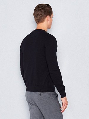 Tröjor & cardigans - Marccetti Edward O-neck Sweater Black