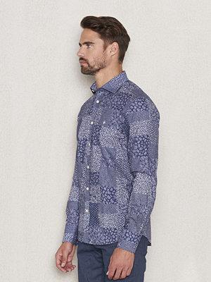Skjortor - Morris New Barrel Shirt 58 Blue Patch