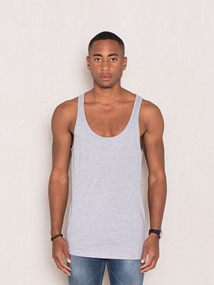 Linnen - Kvarn Jonas Tank Light Grey Melange