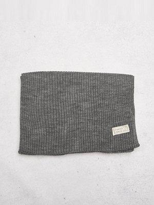 Halsdukar & scarves - Journal Objects Ltd John Rib Scarf Grey Melange