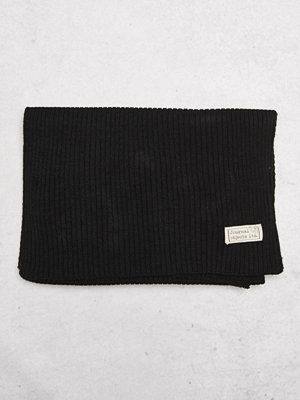 Halsdukar & scarves - Journal Objects Ltd John Rib Scarf Black