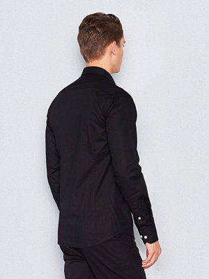 Skjortor - Marccetti Tom Contrast Shirt Black
