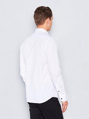 Skjortor - Marccetti Tom Contrast Shirt White