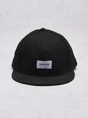 Kepsar - Speechless Wilbur Cap Black