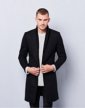 William Baxter Dean Wool Coat Black