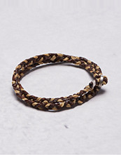 Smycken - Nic & Friends Frank Bracelet Hemp/Dark Brown