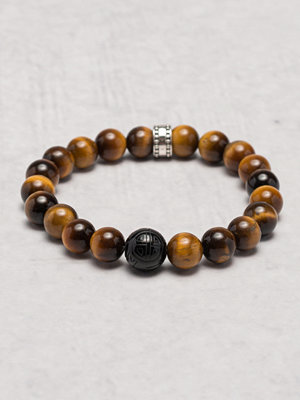 Smycken - Thomas Sabo A1408 Tigers Eye Brown