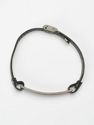 Smycken - by Billgren Leather Bracelet 8978 Black