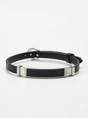 Smycken - by Billgren Leather Bracelet 8961 Black