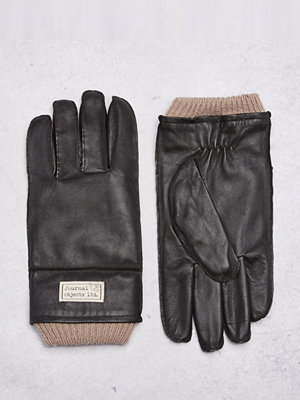 Handskar & vantar - Journal Objects Ltd Maurice Leather Gloves Brown