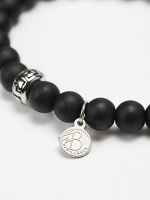 Smycken - by Billgren Bead Bracelet 8916 Black