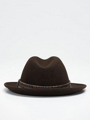 Hattar - Wigéns Fedora Classic Hat 049 Brown