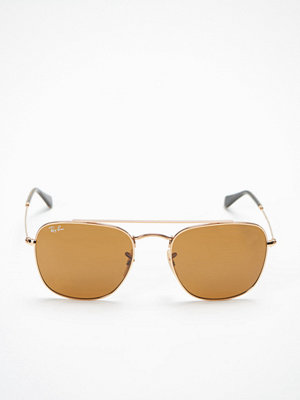Ray-Ban RB3557 Icons Gold/Brown