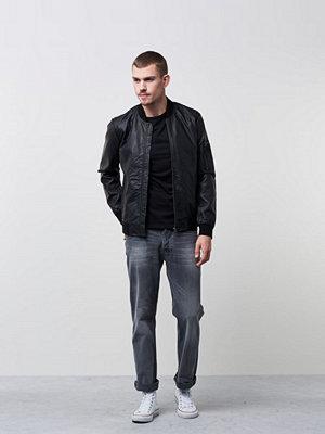 Jeans - Nudie Jeans Loose Leif Silver Phantom