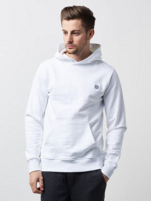 Street & luvtröjor - WESC Mike Icon Patch White