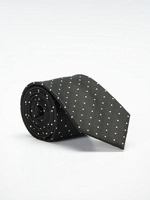Slipsar - Marccetti Kevin Tie Dot Black