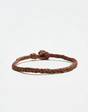 Smycken - Smash Plait Bracelet Brown