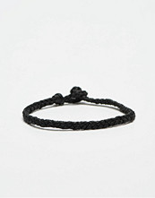 Smycken - Smash Plait Bracelet Black