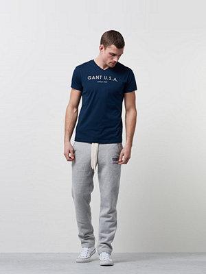 Gant Underwear Seasonal V-neck T-shirt GANT USA 405 Navy