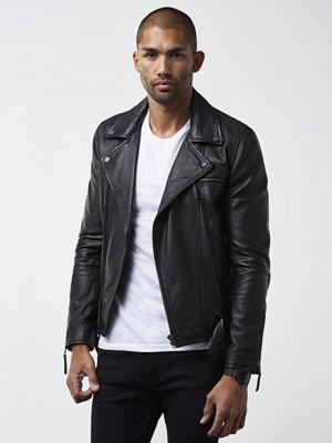 William Baxter Stevie Leather Jacket Black
