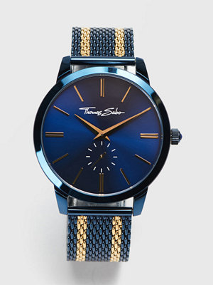 Klockor - Thomas Sabo Rebel Spirit Mesh Navy / Gold