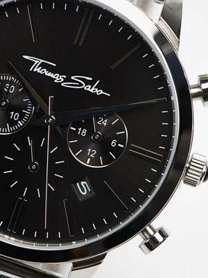 Klockor - Thomas Sabo Rebel Spirit Chrono Mesh Black / Silver