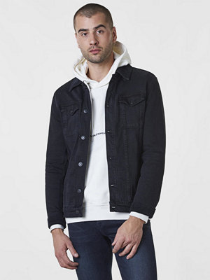 Jeansjackor - William Baxter Neil Denim Jacket Black Washed