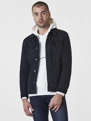 Jeansjackor - William Baxter Neil Denim Jacket Black Washed