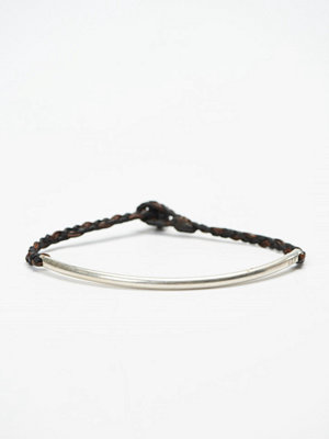 Smycken - Nic & Friends John Bracelet Black/Dark Brown