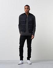 Västar - Denim & Supply Ralph Lauren Quilted West Black
