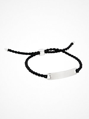 Smycken - by Billgren Nylon Rope Bracelet Black