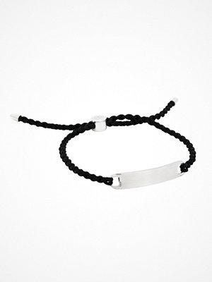 by Billgren Nylon Rope Bracelet Black